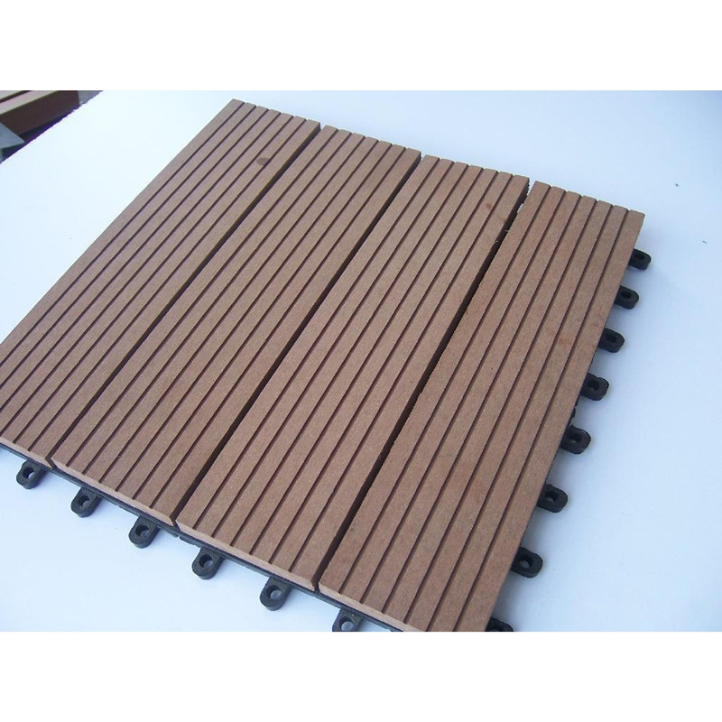 Wpc deck tile for Wpc decking